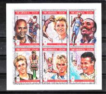 Nicaragua  - 1995. Pre-Atlanta. Vecchi Vincitori Olimpici Old Olympic Winners. Complete MNH Series - Estate 1996: Atlanta