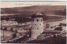 08.  GIVET . PANORAMA DE LA VILLE ET TOUR GREGOIRE - Givet