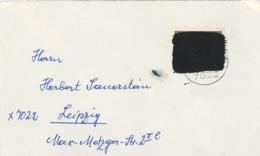 Innerdeutscher Postkrieg - Schwärzung - [7] Federal Republic