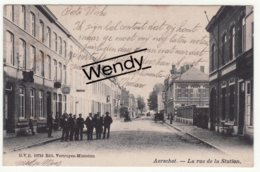 Aarschot (la Rue De La Station) Uitg. D.V.D. N° 10710  1906 - Aarschot