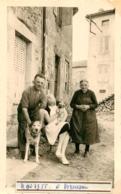 BROUSSE PUY DE DOME 1955  PHOTO ORIGINALE FORMAT  11 X 6.5 CM - Orte
