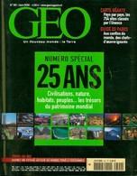Géo N°301 : Numéro Spécial 25 Ans De Collectif (2004) - Livres, BD, Revues