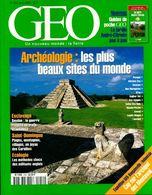 Géo N°254 : Archéologie, Les Plus Beaux Sites Du Monde De Collectif (2000) - Livres, BD, Revues
