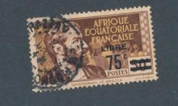 AEF - N°YT 139 OBLITERE - COTE YT : 0€90 - 1940 - A.E.F. (1936-1958)