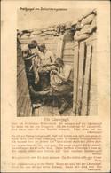 Läuse-Jagd Treibjagd Im Schützengraben, Soldaten Humor 1916 - Guerre 1914-18