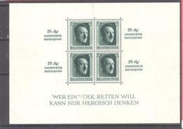 Reich  Michel # Block 9 * - Blocks & Kleinbögen