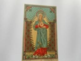 DEVOTIE-STEENDRUK VAN DE VYVERE PETYT-BRUGGE-ALLERZUIVERSTE HERT VAN MARIA - Religión & Esoterismo