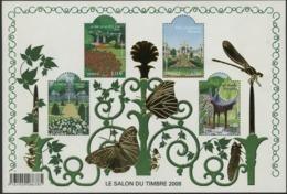 """BF 120 """"LE SALON DU TIMBRE 2008"""". Neuf Sans Charnière ** Cote 90 €. TB - Blocs & Feuillets"""
