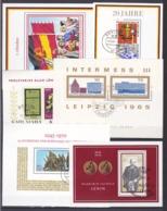 DDR - 1965/82 - Block Sammlung - Gest. - 69 Euro - DDR