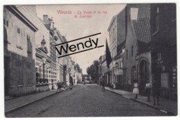 Vilvoorde (la Poste Et La Rue De Louvain) - Vilvoorde