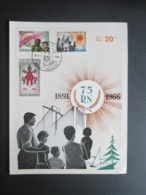 1360/62 Rerum Novarum HK + 1362 Op Brief Uit Malmedy - Belgique