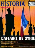 Historia 2e Guerre Mondiale N°20 : L'affaire De Syrie De Collectif (1968) - Books, Magazines, Comics