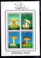 Burkina Faso Hoja Bloque Nº Yvert 39 ** SETAS (MUSHROOMS) - Burkina Faso (1984-...)