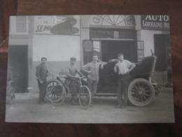 Carte Postale Voiture Ancienne à Identifier - Cartoline