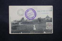 """MAROC - Oblitération """" Trésor Et Postes Aux Armées Casablanca """" En 1909 Sur Carte Postale - L 42604 - Lettres & Documents"""