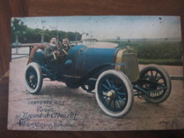 Carte Postale Voiture Ancienne Grand Prix ACF Bayard - A.Clément - Other