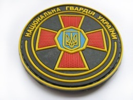 Army Tactical Morale Military 3D PVC Rubber Patch National Guard Of Ukraine #52 - Ecussons Tissu