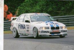 BMW 320i  -  Pilote: Jo Winkelhock  -  BTCC Race Brands Hatch 1996  - CPM - Motorsport