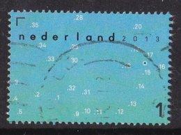 Nederland - Da's Toch Een Kaart Waard - Puzzel Met Puntjes En Getallen - Gebruikt/gebraucht/used - NVPH 3095a - Gebraucht