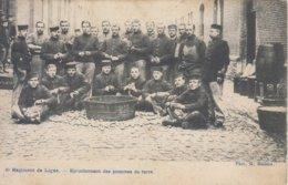 6e Régiment De Ligne - Epluchement Des Pommes De Terre - Barracks
