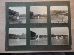 TENNIS - Année:1913 - Lot De 17 Photos - Angleterre, Eastbourne Et Fokestone - Voir Description En Dessous - Tennis