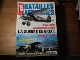 Magazine BATAILLES AERIENNES N° 15 - Janvier – Février – Mars – 2001  Revue Trimestrielle. - Aviation