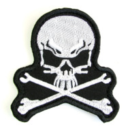 Ukraine Tactical Morale Military Patch Special Forces SWAT Skull War #640 - Ecussons Tissu