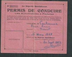 """Permis De Conduire Les Voitures à Pédales De """"La Dépêche Quotidienne D'Algerie"""" - Voitures"""
