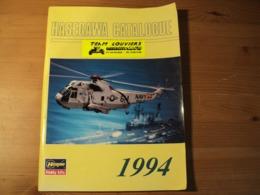 Catalogue HASEGAWA 1994 En Plusieurs Langues  Revue Adressée A La Team Louviers Minimodels. Hasegawa Hobby Kits. - Aviation