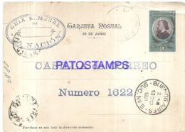 120746 ARGENTINA BUENOS AIRES YEAR 1901 & SHIP ACORAZADO BELGRANO POSTAL STATIONERY POSTCARD - Interi Postali