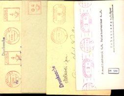 Deutsches Reich, 4 Briefe Mit Freistempel - Lettere