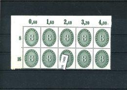 Deutsches Reich, Xx, Dienst, POR 116 - Dienstpost