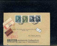 DR, Böhmen Und Mähren 89+102+104 - Covers & Documents