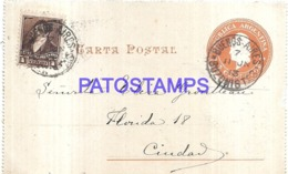 120750 ARGENTINA BUENOS AIRES YEAR 1913 BUZONISTAS POSTAL STATIONERY C/ POSTAGE ADDITIONAL NO POSTCARD - Interi Postali