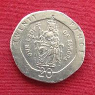 Gibraltar 20 Pence 2003 AA KM# 777 *V1  Gibilterra - Gibraltar