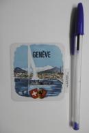 Autocollant Stickers - Blason GENÈVE - écusson Adhésif SUISSE - Stickers