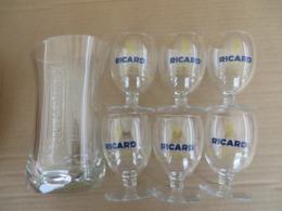 Verres Ballons Et Carafe Ricard - Dishware, Glassware, & Cutlery
