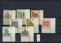 Bundesrepublik, Bundesrepublik, 454-461, Xx, Eckränder Rechts Unten Teilweise Mit Fornmunnern - BRD