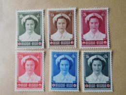Timbres Belgique Série 912/17 Neufs / Joséphine-Charlotte - Belgique