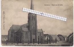 """OORDEREN-ANTWERPEN""""ZICHT AAN DE KERK-INGANG SPECIAAL ZICHT""""HOELEN 4527 UITGIFTE 1909 - Antwerpen"""