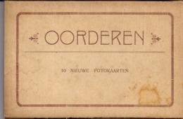 """OORDEREN-ANTWERPEN""""'BOEKJE MET 10 NIEUWE FOTOKAARTEN IN ACCORDEON""""ZEER ZELZAAM !!!!-UITG.VAN DE WEYNGAERT LOOS - Antwerpen"""