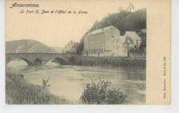BELGIQUE - ANSEREMME - Le Pont Saint Jean Et L'Hôtel De La Lesse - Belgique