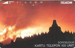 Indonesien - IND 127 - BOROBUDUR TEMPLE AT SUNSET - 100 Units - Indonesië