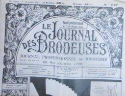 LE JOURNAL DES BRODEUSES N° 717 1ER DECEMBRE 1954 - Moda