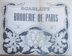 SCARLETT BRODERIE DE PARIS N° 24 NOVEMBRE 1951 - Moda