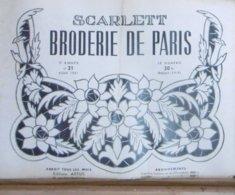 SCARLETT BRODERIE DE PARIS N° 21 AOUT 1951 - Fashion