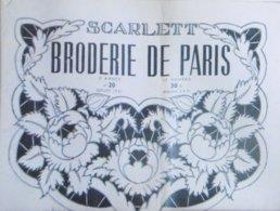 SCARLETT BRODERIE DE PARIS N° 20 JUILLET 1951 - Moda