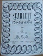SCARLETT BRODERIE DE PARIS N° 5 ANIMAUX : PERROQUETS CHATS CANARDS - Fashion