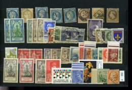 Sammlung Auf A5-Karte, Xx,x,o, 4 Lose U.a. Italien - Sammlungen (ohne Album)
