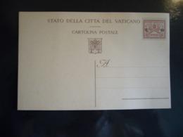 1929  STATO DELLA CITTA' DEL VATICANO  CARTOLINA POSTALE       L.  10 - Vaticano (Ciudad Del)
